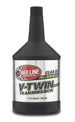 Red Line Oil Powersports V-Twin Transmission Oil with ShockProof Quart 42804