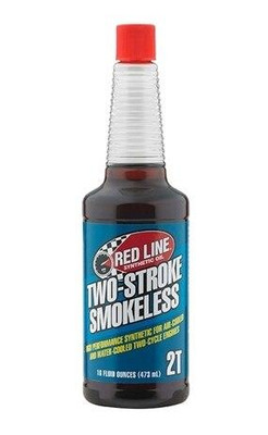 Red Line Oil Powersports Two-Stroke Smokeless Oil 16 oz 40903