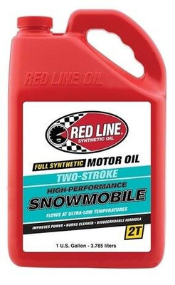 Red Line Oil Powersports Two-Stroke Snowmobile Oil Gallon 41005