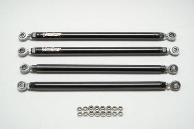 Shock Therapy RZR Radius Rod Kit, 4130 Chromoly 18-19 XP Turbo w/ FOX Shocks 4-Seat 820-1052-10