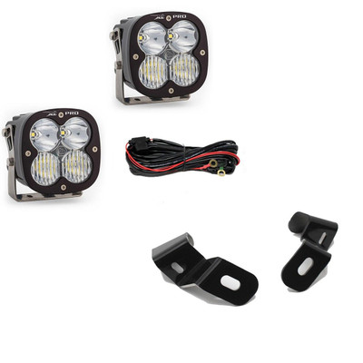 Baja Designs Dodge Ram 2500/3500 LED Light Pods Sport 19-On A-Pillar Kits 448036