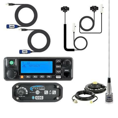Rugged Radios RRP696 2-Person Builder Kit with Digital Mobile Radio 696-2P-RDM