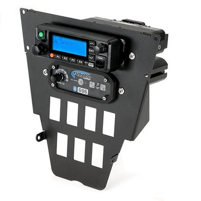 Rugged Radios RDM Digital Radio and Intercom Mount for Polaris RZR Pro XP MT-XPRO-DM