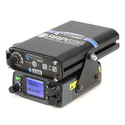 Rugged Radios Intercom and 25-Watt Radio Side Mount MT-SM-25WP
