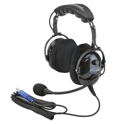 Rugged Radios H22 Ultimate Carbon Fiber Headset H22-ULT
