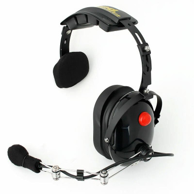 Rugged Radios H15 Single Side Headset H15-BLK