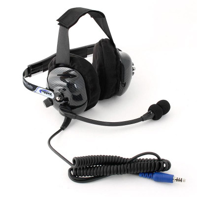 Rugged Radios H42 Ultimate Carbon Fiber Headset H42-ULT