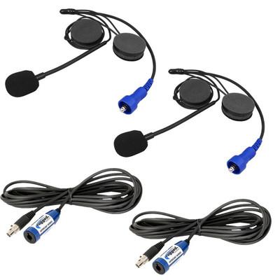 Rugged Radios Plus 2 Helmet Kit and Cable Expansion Kit PLUS2-HK