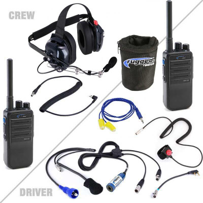 Rugged Radios Offroad Short Course System with Digital 16-Channel Radios OFFROAD-RDH