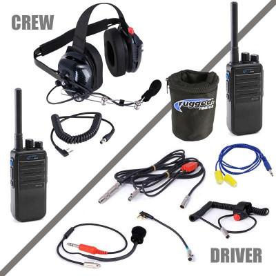 Rugged Radios NASCAR System with Digital 16-Channel Radios NASCAR-RDH