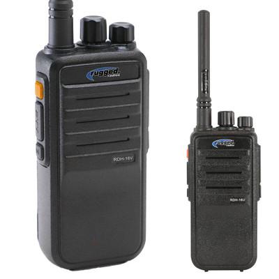 Rugged Radios Digital 16-Channel Handheld Radio UHF RDH16-U