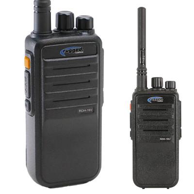 Rugged Radios Digital 16-Channel Handheld Radio VHF RDH16-V