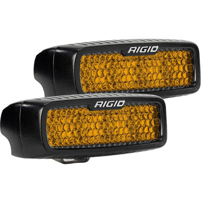 Rigid Industries SR-Q Rear Facing High/Low SM Diffused Amber 90161