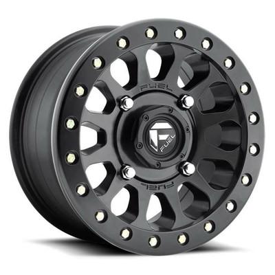 Fuel Offroad D920 Vector Beadlock UTV Wheel 14X7 4X156 Matte Black D9201470A545