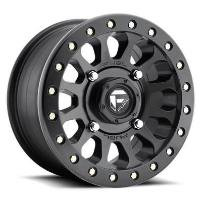 Fuel Offroad D920 Vector Beadlock UTV Wheel 14X7 4X137 Matte Black D9201470A655