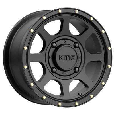 KMC Wheels KS134 Addict 2 UTV Wheel 15X6 4X137 38 Satin Black KS13456048738