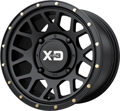KMC Wheels KS135 Grenade UTV Wheel 14X7 4X137 38 Satin Black KS13547048738