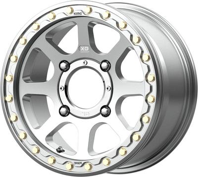 KMC Wheels KS234 Addict 2 Beadlock UTV Wheel 15X6 4X156 38 Machined KS23456044538