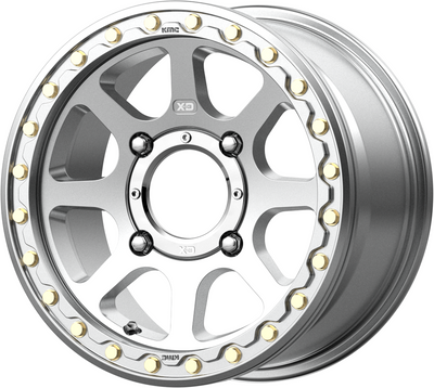KMC Wheels KS234 Addict 2 Beadlock UTV Wheel 15X6 4X137 38 Machined KS23456048538