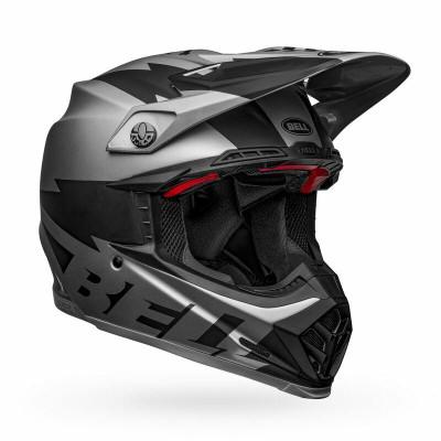 Bell Helmets Moto-9 Flex Medium Breakaway Matte Silver/Black BL-7122635