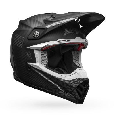 Bell Helmets Moto-9 Flex Small Slayco Matte/Gloss Black/Gray BL-7118292