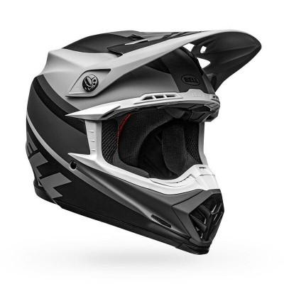 Bell Helmets Moto-9 MIPS Medium Prophecy Matte Gray/Black/White BL-7109827