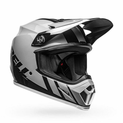 Bell Helmets MX-9 MIPS Medium Dash Gloss Gray/Black/White BL-7111200