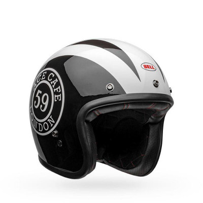 Bell Helmets Custom 500 Ace Cafe 59 Medium Black/White BL-7118269