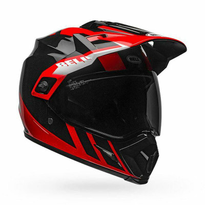 Bell Helmets MX-9 Adventure MIPS Large Dash Gloss Black/Red/White BL-7110278