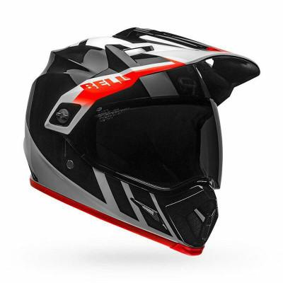 Bell Helmets MX-9 Adventure MIPS Large Dash Gloss Black/White /Orange BL-7110292