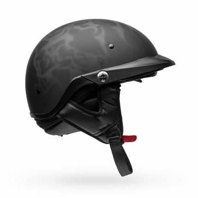 Bell Helmets Pit Boss Flames Medium Black/Grey BL-7109734