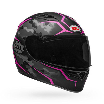 Bell Helmets Qualifier Stealth Camo Large Black/Pink BL-7107896