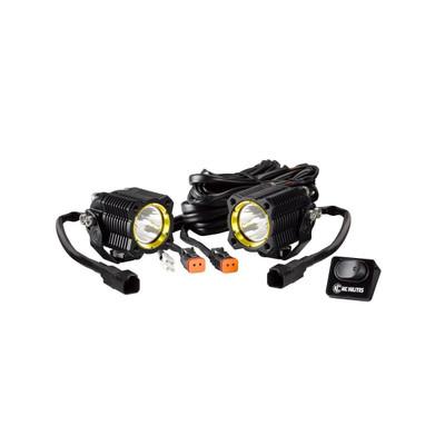 KC HiLites FLEX LED Single Pair Pack System Spot 0270
