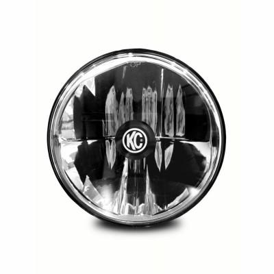 KC HiLiTES 7 Gravity LED - Single Headlight - SAE/ECE - 40W Driving Beam - 07-18 Jeep JK 4235