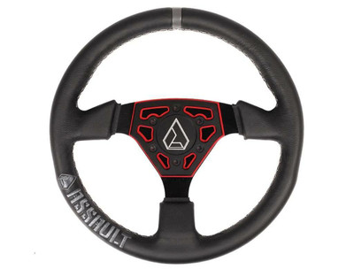 Assault Industries Navigator Leather Steering Wheel Red 100005SW0903