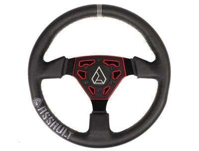 Assault Industries Navigator Leather Steering Wheel Red 100005SW0903