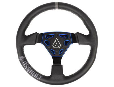 Assault Industries Navigator Leather Steering Wheel Blue 100005SW0902