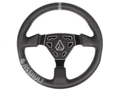 Assault Industries Navigator Leather Steering Wheel Raw 100005SW0931