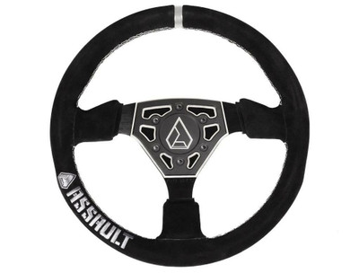 Assault Industries Navigator Suede Steering Wheel Raw 100005SW0731