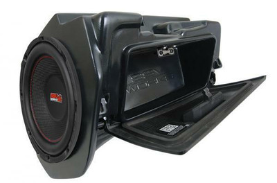 SSV Works 2014 Polaris RZR Turbo S and XP1000 10 Powered Glove-Box Sub Box WP-RZ4GBS10