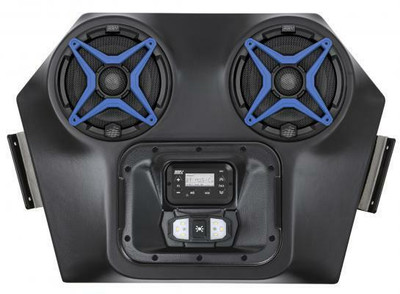 SSV Works Polaris RZR 570/800/900 Overhead Audio System with Dome Light WP3-RZOA