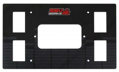 SSV Works Polaris RZR XP 1000 Dash Mounting Kit for MRB3 RZ3-DM3