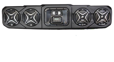 SSV Works Can-Am Defender Overhead Sound Bar 4-Speaker WP3-DFO4