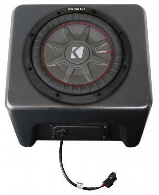SSV Works 2018 Polaris Ranger XP1000 Ride Command Kicker Audio Kit 5-Speaker RG4-5KRC