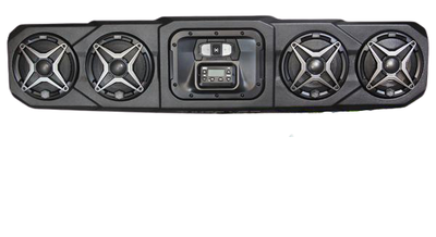 SSV Works Polaris Ranger Overhead Sound Bar 4-Speaker WP3-RG34O4