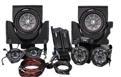 SSV Works 2017-2018 Can-Am X3 Complete Kicker Audio Kit 6-Speaker X3-6K