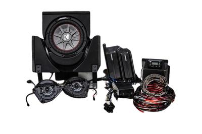 SSV Works 2019 Can-Am X3 Complete Kicker Audio Kit 3-Speaker X32-3K