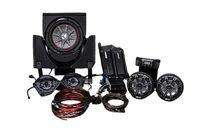 SSV Works 2019 Can-Am X3 Complete Kicker Audio Kit 5-Speaker X32-5K