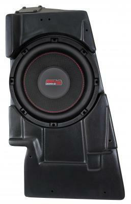 SSV Works Yamaha YZX 1000R Behind Passenger Seat Sub Box with 10 Amplified Subwoofer WP-YZPSB10