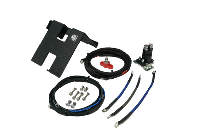 UTV Stereo Can-Am X3 2nd Battery Kit Wire Kit and Battery Mount Only UTVSTO-X3-WKB